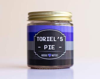 Toriel's Pie  -- Undertale Inspired Soy Candle (4 oz.)