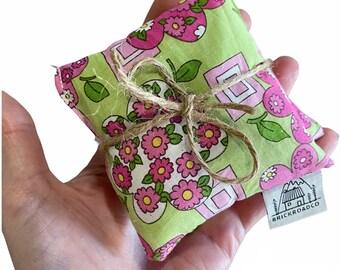 Reusable hand warmer floral rice hand warmer stocking stuffer