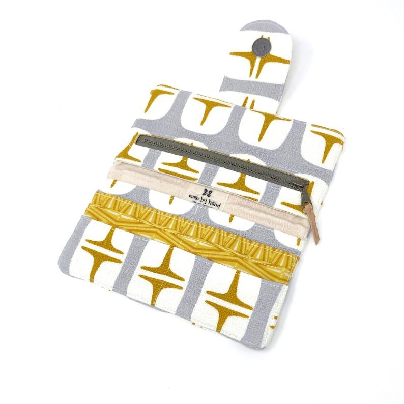 Sustainable Black Cork Bi-Fold Wallet Customize Lining!