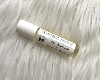 CONTROL FREAK   Organic Spot Treatment for Uninvited Blemishes   Gifts for Him   Gifts for Her   Vegan Skincare   Acne Spot Treatment
