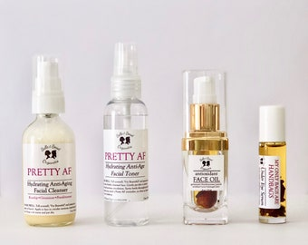 Anti-Aging COLLECTION   Organic Antioxidant Face Oil   Botanical Infused   Anti-Aging Oil   Acne Treatment     Damaged Skin   Oily Dry Skin