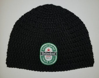 edec5c3f2e53a Heineken Beer Beanie  customize your hat color