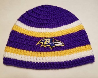 cd67258597e Baltimore Ravens NFL Football Team Beanie