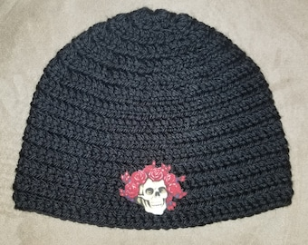 The Grateful Dead Beanie  Customize your hat color! 861acf56e9f8
