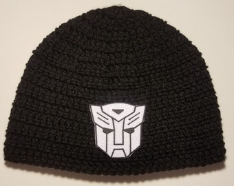 Transformer Autobot Beanie Hat  Customize your hat color  b65eb40a99a