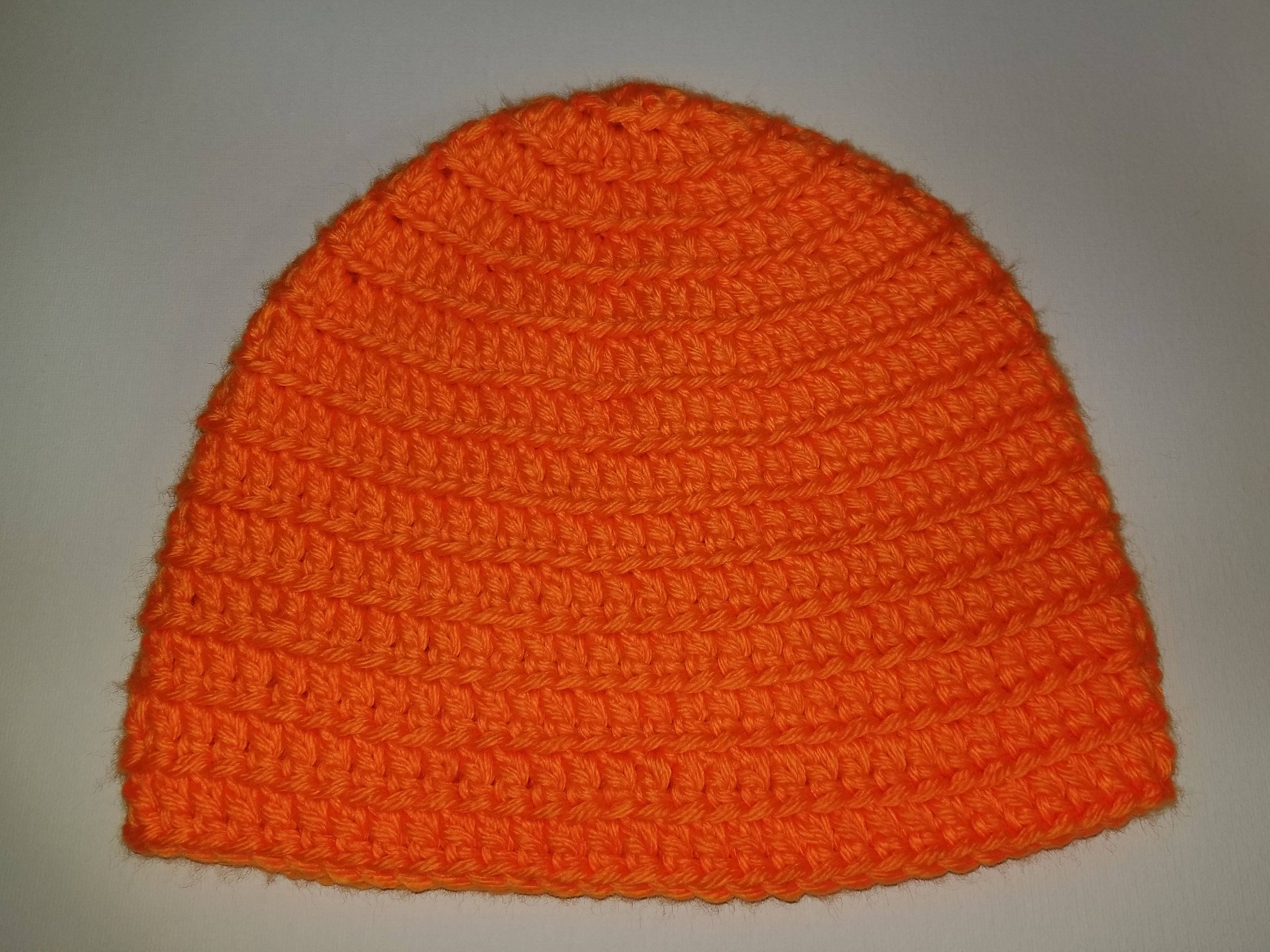 Hunting Fluorescent Orange Beanie Great for hunting  afd596e4cb6