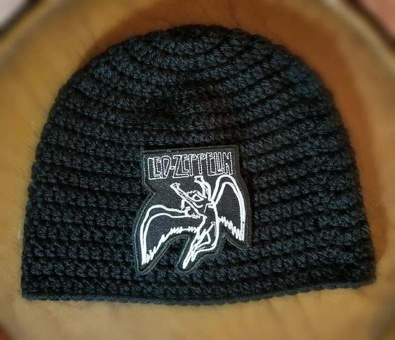 695d6761367 Led Zeppelin Beanie Customize your hat color