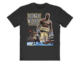 448adbcd4 Vintage Inspired Deontay Wilder Boxing Tee