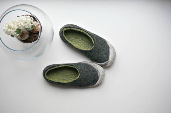 Footprints , Damen Hausschuhe schwarz schwarz: