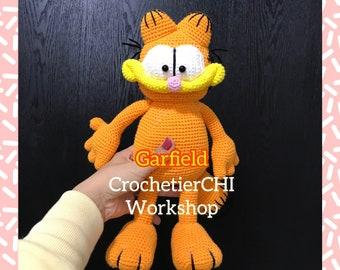 Garfield the Cat Amigurumi Pattern