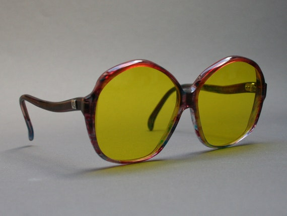 40a2986001 Vintage 1970s PIERRE CARDIN oversized sunglasses for women