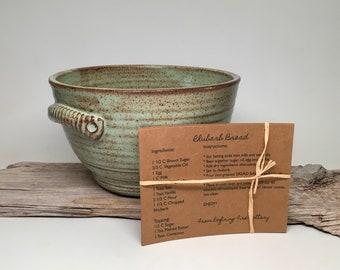 bread baker, serving bowl, Ceramic mixing bowl, bread rising/baking bowl #2