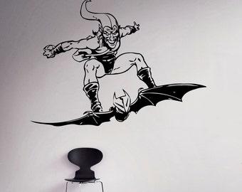 Harley Quinn Wall Vinyl Decal Batman Comics Supervillain Etsy