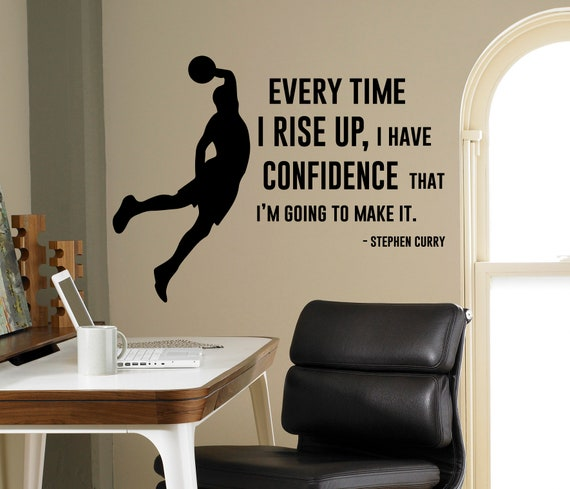 Confident Beautiful Wall Quote Vinyl Decals Sticker Decor Home DIY Art Mural