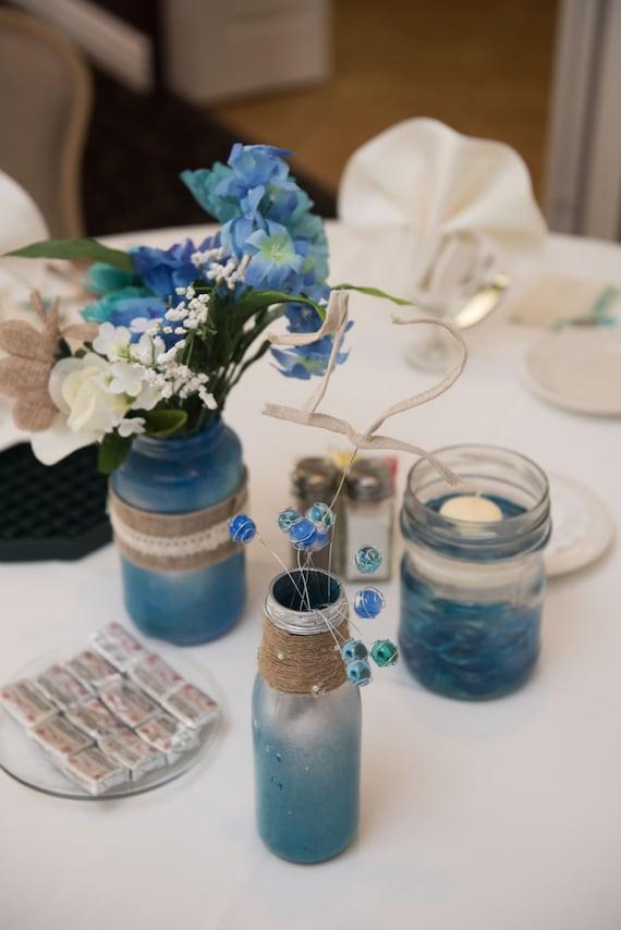3 Piece Set Wedding Centerpieces Etsy