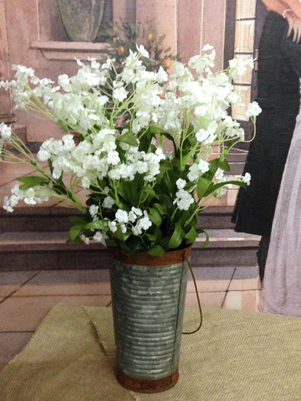 Nwt Artificial Gypsophila Bouquets Silk Flowers Babys Etsy