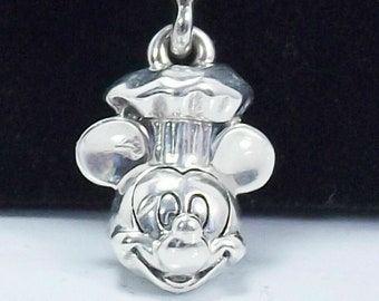 62985cbbc NEW Authentic Pandora Chef Mickey Mouse Food And Wine Festival charm