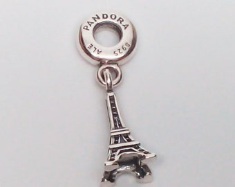 4acd73abc New Authentic Pandora 925 ALE Sterling Silver Eiffel Tower Paris charm bead  791082