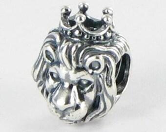 6b3141f15 New Authentic Pandora King of the Jungle Lion Head 791377 Charm Bead