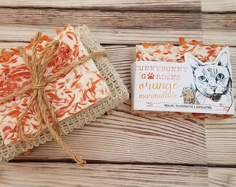 Birthday Gift For Her | Orange Soap Bar | Gift Set