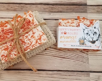 Orange Soap Gift Set, Soap Gift Ideas