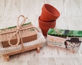 Gift Set For Gardeners, Rosemary Soap,