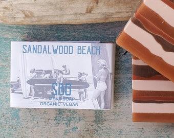 Sandalwood Bar Soap | Rustic | Relax | Clean | Organic | Vegan
