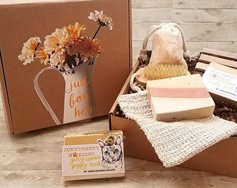 Lemon Poppy Soap Gift Box,