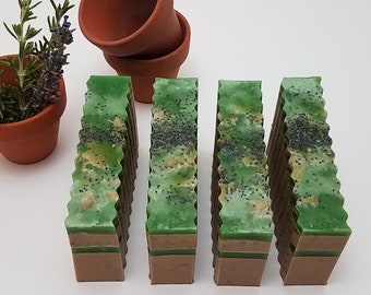 Rosemary Soap, Soap for Gardeners, Exfoliating Soap, Handmade Soap Gardeners Would Love, Gifts for Gardeners, Lavender Soap, Soaps In Bulk