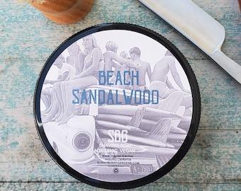 Sandalwood Shave Soap | Organic Mens Shave Soap | Sandalwood Soap | Shaving Soap For Men | Shaving Soap Bar | Mens Shave Kit | Mens Shaving