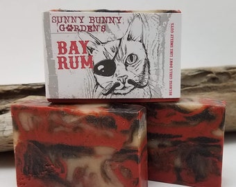 Bay Rum Soap Bar, Handmade Mens Soap, Gifts For Men, Fathers Day Gifts, Soaps Guys Love, Bay Rum Vegan Soap Bar, Old Fashioned Soap For Men