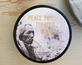Shaving Soap, Men Soap, Tobacco Shave Soap, Beard Grooming, Christmas Gift Men, Grooming Soap, Moisturizing Shave Soap, Natural Skin Care