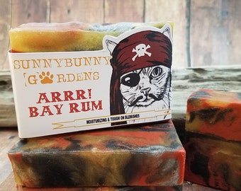 Bay Rum Soap | Fathers Day Gift | Vegan Soap