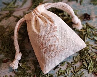 Cedarwood Sachet | Potpourri Sachet, Wedding Favors Sachet, Organic Herb Sachet, Air Freshener, Aroma Therapy Bags, Closet Freshener Bags