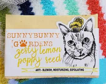Lemon Poppy Seed Soap | Kids Soaps | Funny Novelty Gifts