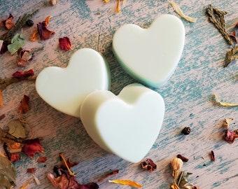 Heart Soap Bars, Bridal Shower Favors, Cucumber Melon Soaps, Bridal Shower Favors, Organic Skin Care, Moisturizing Soap Bars, Wedding Favors