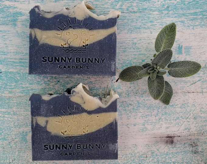 Featured listing image: Charcoal Soap   Activated Charcoal Soap   Handmade Soap   Handmade Soap   Sage Lavender Essential Oil Soap   Clarifying Soap   Black Soap