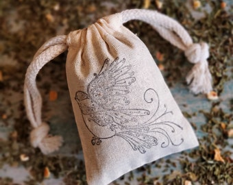 Mint Lemon Orange Citrus Sachet | Small Gifts | Spa Day Ideas | For Her