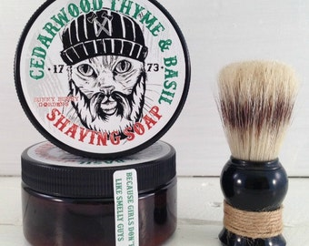 Cedarwood Shaving Soap | Wet Shave | Beard Care