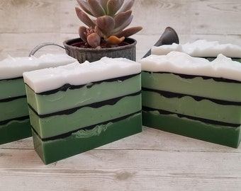 Mint Soap, Cucumber Soap, Wholesale Mint Soap