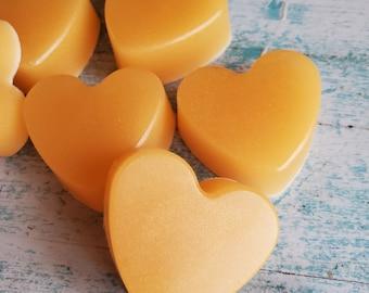 10 - 100 pc Bulk Mini Champagne Soap Favors | Mini Soap | Mini Soap Favors | Bridal Shower Favors | Heart Shaped Soaps | Wedding Favors