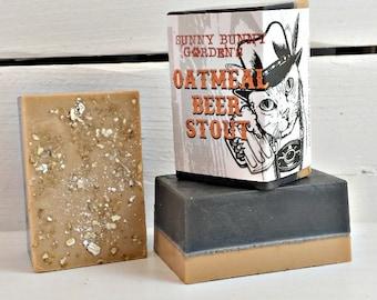 BULK Oatmeal Stout Soap for Men, Beer Soap, Oatmeal Soap For Guys, Wholesale Soap For Men, Stout Beer Soap, Funny Gifts For Men,