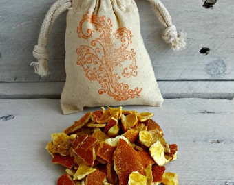 Orange Sachet | Citrus Sachet | Natural | Potpourri | New Car Gift | Air Freshener | Drawer Freshener
