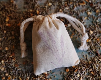 Lavender Citrus Sachet | Wedding Favors, Herb Sachet Bags, Drawer Sachets, Lavender Air Freshener, Bridal Shower Favors, Potpourri Bags
