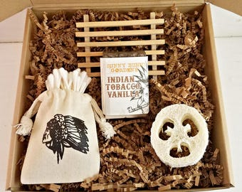 Tobacco Vanilla Soap, Vegan Vanilla Soaps, Masculine Soaps, Mens Soap Gift Box, Gifts For Men, Birthday Gifts, Best Friend Gift, Groomsman