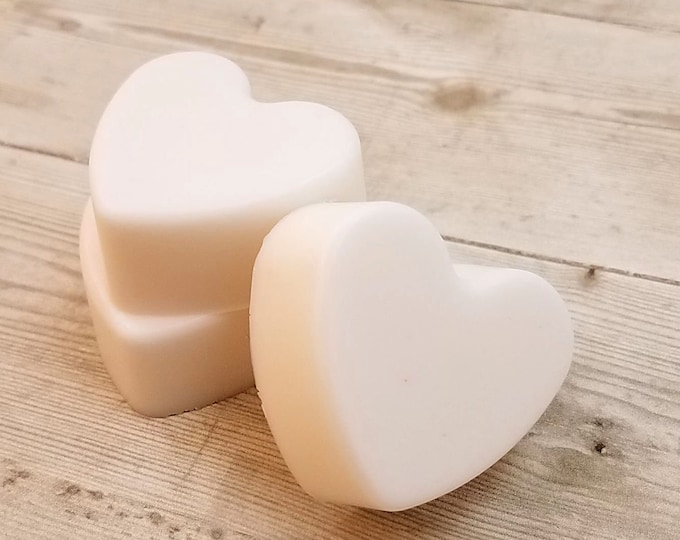 Featured listing image: Almond Wedding Soap Favors, Bridal Heart Favor,  Baby Shower Soap Favors, Party Soap Favors,