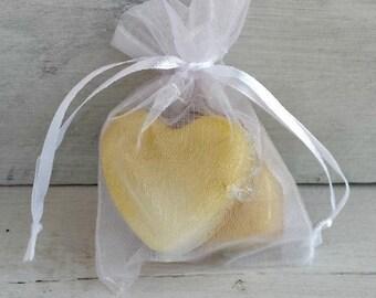 Set of 5 White Organza Favor Bag, Drawstring Bag, Organza Bag, 3x4 Organza Bag, Wedding Favor Bag Bridal favor bag