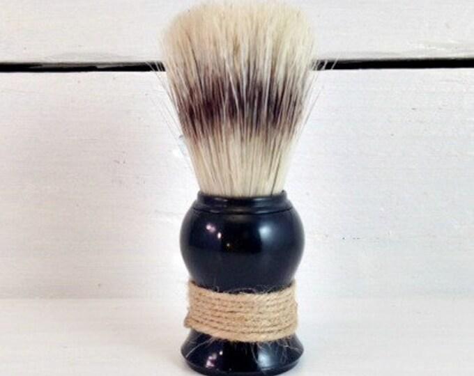 Featured listing image: Boar Bristle Shave Brush, Mens Shaving Brush, Manly Shaving Gifts, Brush For Shaving, Shave Brush, Wet Shave, Saving Soap, Brush for Shaving