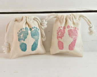 Baby Feet Sachet Bag | Its A Girl Boy | Baby Shower Favors | Newborn Gifts | For Boys Girls Babies