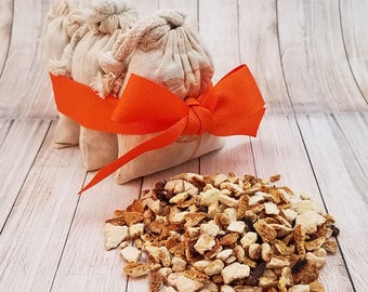 SBG Orange Clove Sachet Set | Orange Sachet | Potpourri Gift | Air Freshener | Drawer Freshener | Car Air Freshener | Sachet Gift Set